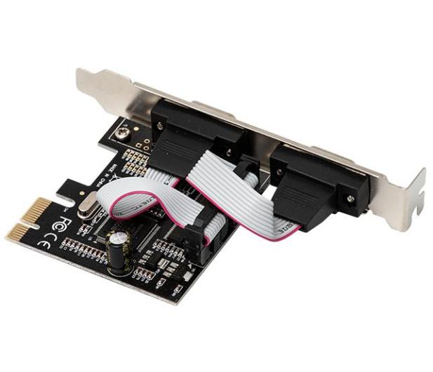i-tec Karta rozszerzeń PCIe - 2x RS232 - 518548 - zdjęcie 3