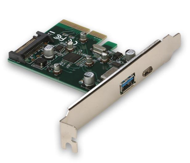 i-tec Adapter PCIe - USB-C, USB, SATA - 518549 - zdjęcie
