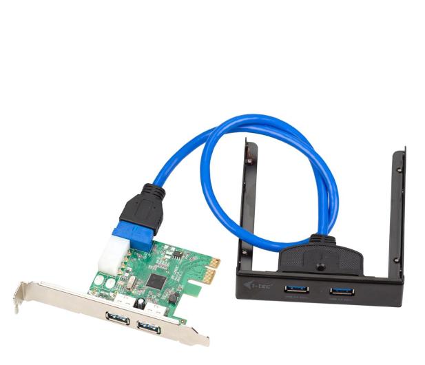 i-tec Adapter PCIe - 4x USB 3.0 (zestaw) - 518555 - zdjęcie