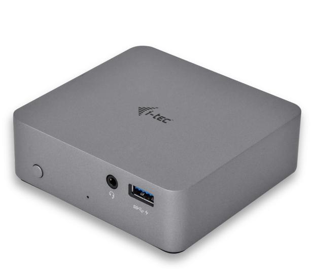 i-tec USB-C - HDMI, USB, USB-C, RJ-45, Metal, 4K  - 518247 - zdjęcie