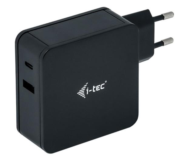 i-tec Ładowarka sieciowa USB-C 60W, USB 12W - 518541 - zdjęcie