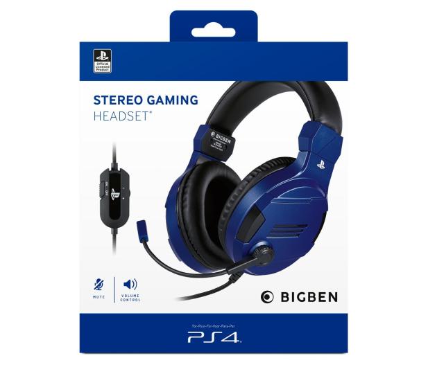 BigBen PS4 Słuchawki licencjonowane - blue - 518904 - zdjęcie 4