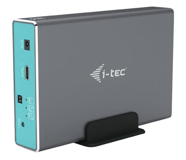 """i-tec Obudowa do dysku 2x 2.5"""" (MySafe, USB-C) - 518505 - zdjęcie"""