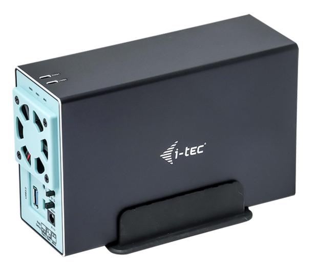 """i-tec Obudowa do dysku 2x 3.5"""" (MySafe, USB-C) - 518506 - zdjęcie"""