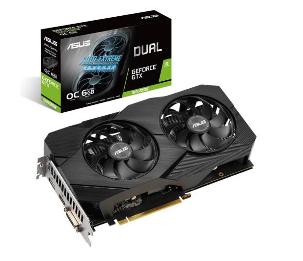 ASUS GeForce GTX 1660 SUPER DUAL OC EVO 6GB GDDR6 - 523938 - zdjęcie