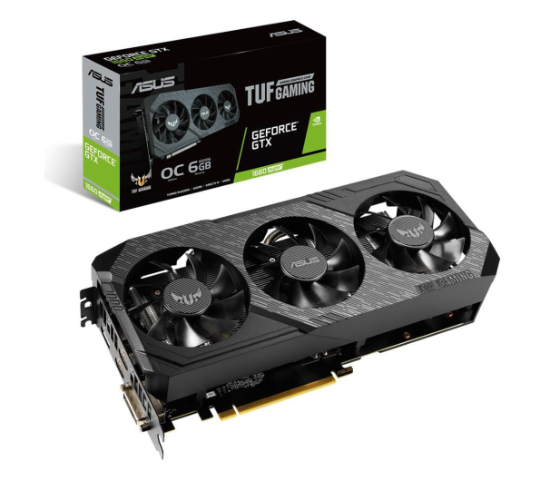 ASUS GeForce GTX 1660 SUPER TUF Gaming OC X3 6GB GDDR6 - 523936 - zdjęcie