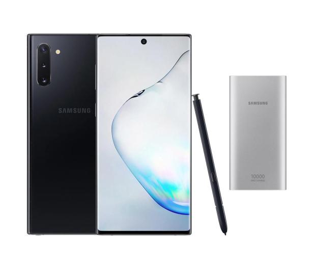 Samsung Galaxy Note 10 Aura Black + PowerBank 10000mAh - 525527 - zdjęcie