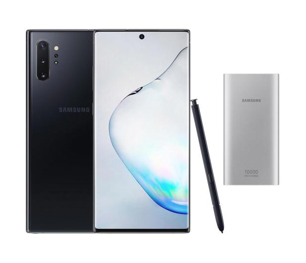 Samsung Galaxy Note 10+ Aura Black + PowerBank 10000mAh - 525530 - zdjęcie