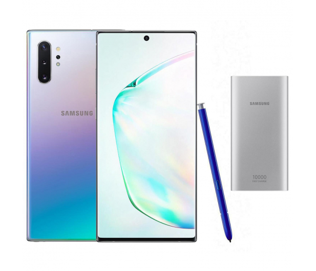 Samsung Galaxy Note 10+ Aura Glow + PowerBank 10000mAh - 525532 - zdjęcie