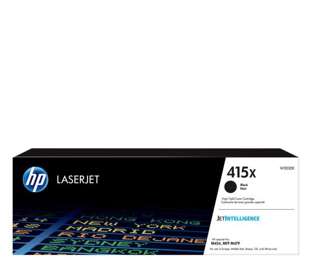 HP 415X czarny 7500str. - 524390 - zdjęcie