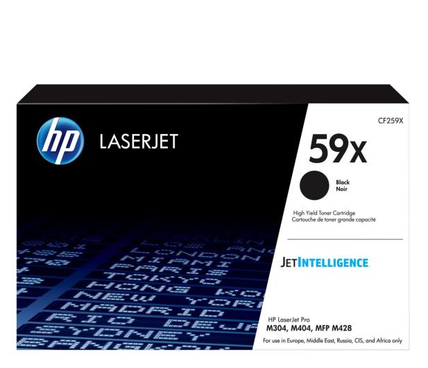 HP 59X czarny 10000str. - 524377 - zdjęcie