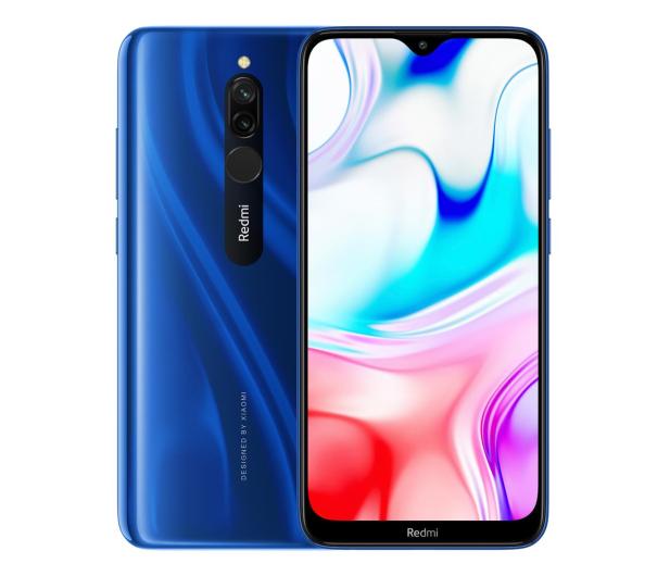 Xiaomi Redmi 8 4/64GB Sapphire Blue - 525807 - zdjęcie