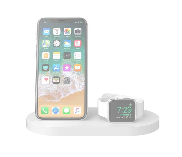 Belkin Ładowarka indukcyjna (iPhone, Apple Watch, biała) - 524918 - zdjęcie 2