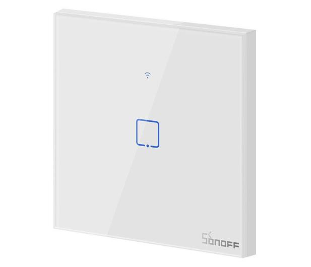 Sonoff Dotykowy Włącznik T1 EU TX (WiFi+RF433 1-kanałowy) - 524637 - zdjęcie 2
