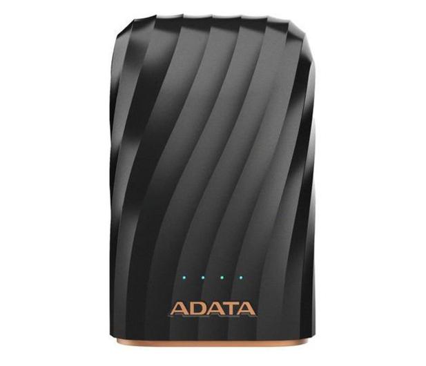 ADATA Power Bank AP10050C 10000mAh, USB-C, 2.4A (czarny) - 518797 - zdjęcie