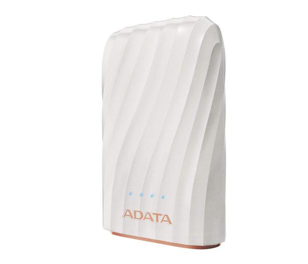 ADATA Power Bank AP10050C 10000mAh, USB-C, 2.4A (biały) - 518798 - zdjęcie 2