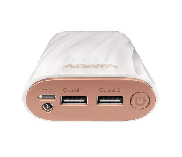 ADATA Power Bank AP10050C 10000mAh, USB-C, 2.4A (biały) - 518798 - zdjęcie 4