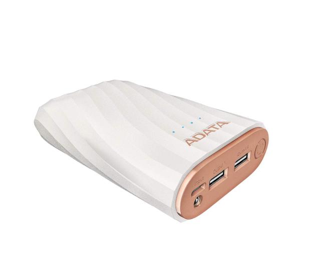 ADATA Power Bank AP10050C 10000mAh, USB-C, 2.4A (biały) - 518798 - zdjęcie 3