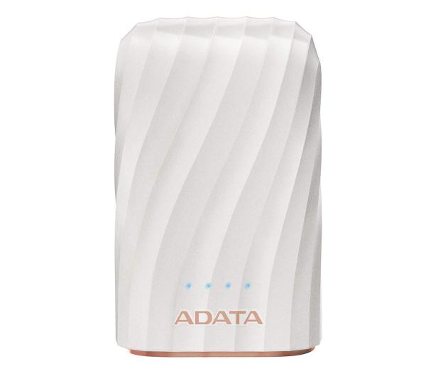 ADATA Power Bank AP10050C 10000mAh, USB-C, 2.4A (biały) - 518798 - zdjęcie