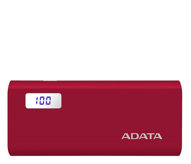 ADATA Power Bank P12500D 12500mAh 2A (czerwony) - 518804 - zdjęcie