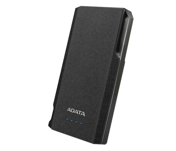 ADATA Power Bank S10000 10000mAh 2.1A (czarny) - 518812 - zdjęcie 2