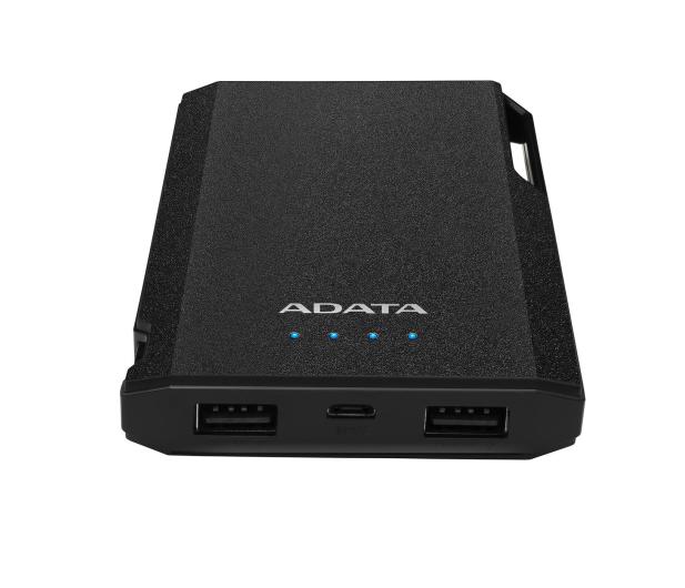 ADATA Power Bank S10000 10000mAh 2.1A (czarny) - 518812 - zdjęcie 3