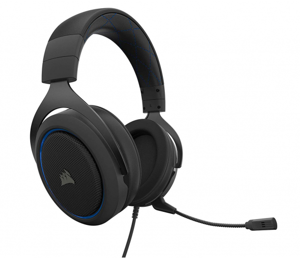 Corsair HS50 PRO Stereo Blue - 519080 - zdjęcie 3