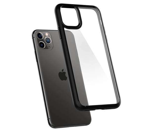 Spigen Ultra Hybrid do iPhone 11 Pro Max Black  - 519938 - zdjęcie 3