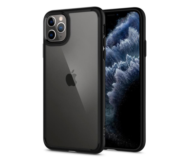 Spigen Ultra Hybrid do iPhone 11 Pro Max Black  - 519938 - zdjęcie