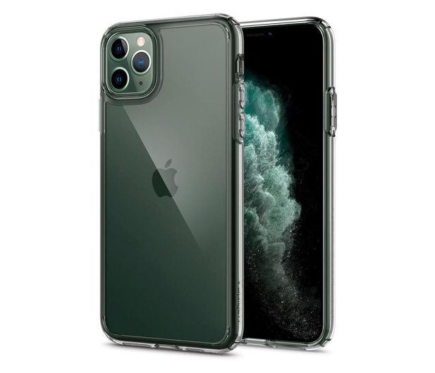 Spigen Ultra Hybrid do iPhone 11 Pro Max Crystal Clear  - 519937 - zdjęcie