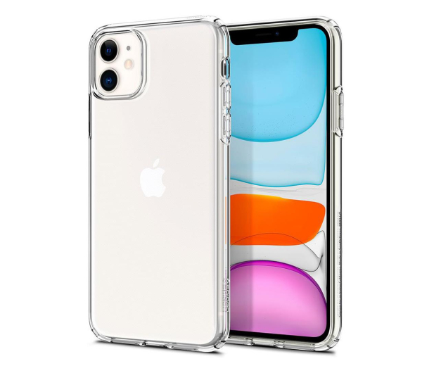 Spigen Liquid Crystal do iPhone 11 Clear  - 519928 - zdjęcie