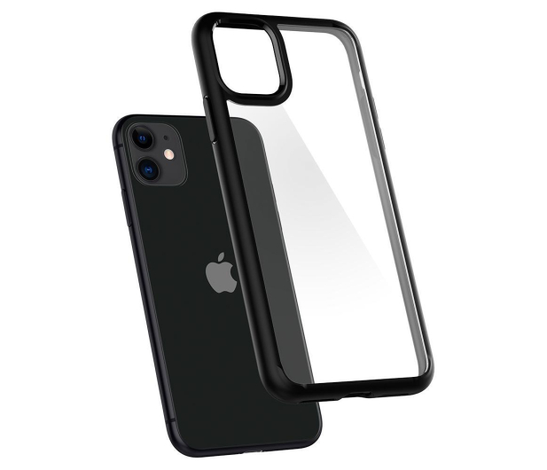 Spigen Ultra Hybrid do iPhone 11 Black  - 519927 - zdjęcie 3