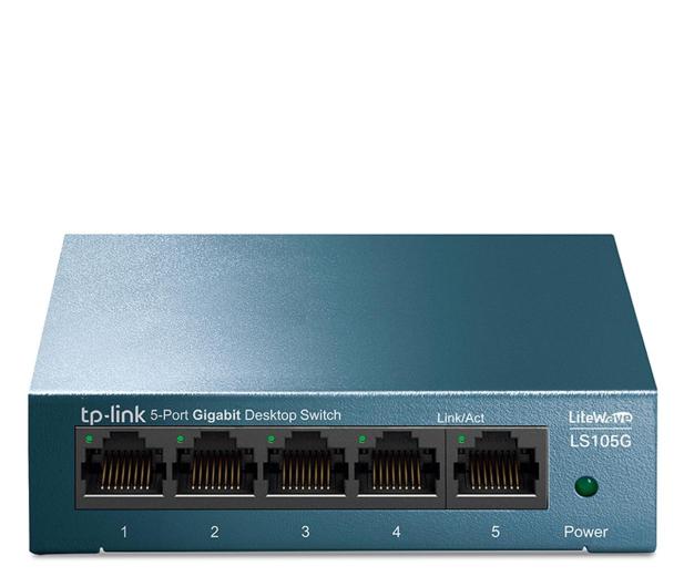 TP-Link 5p LS105G Metal (8x10/100/1000Mbit) - 519243 - zdjęcie