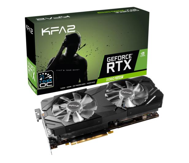 KFA2 GeForce RTX 2060 SUPER EX 1-Click OC 8GB GDDR6 - 520370 - zdjęcie