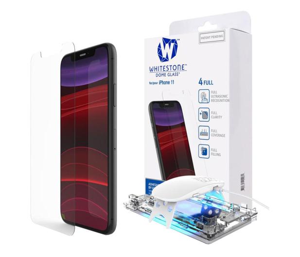 Whitestone Szkło Hartowane Dome Glass + UV do iPhone 11 - 520178 - zdjęcie
