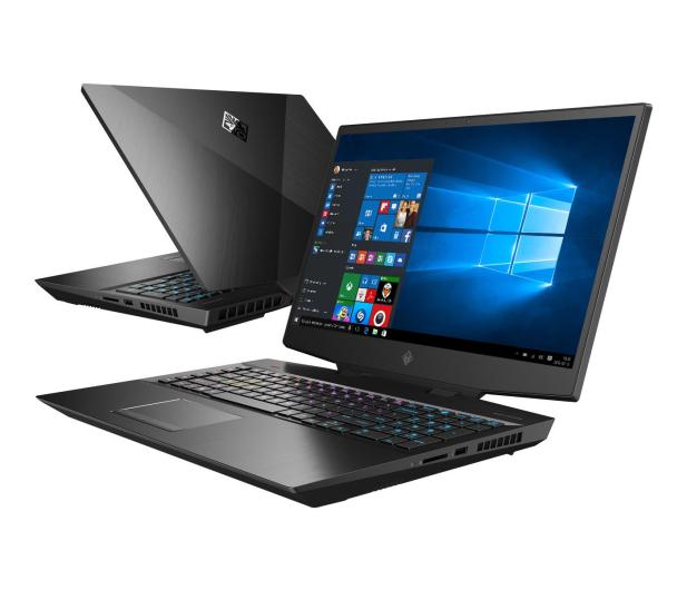 HP OMEN 17 i7-9750H/16GB/512/Win10 RTX2060 144Hz - 550799 - zdjęcie