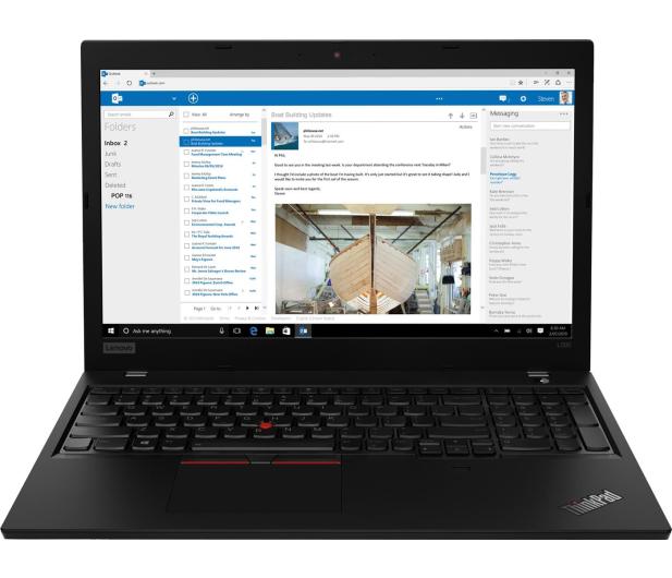 Lenovo ThinkPad L590 i7-8565U/16GB/480/Win10Pro - 528145 - zdjęcie 2