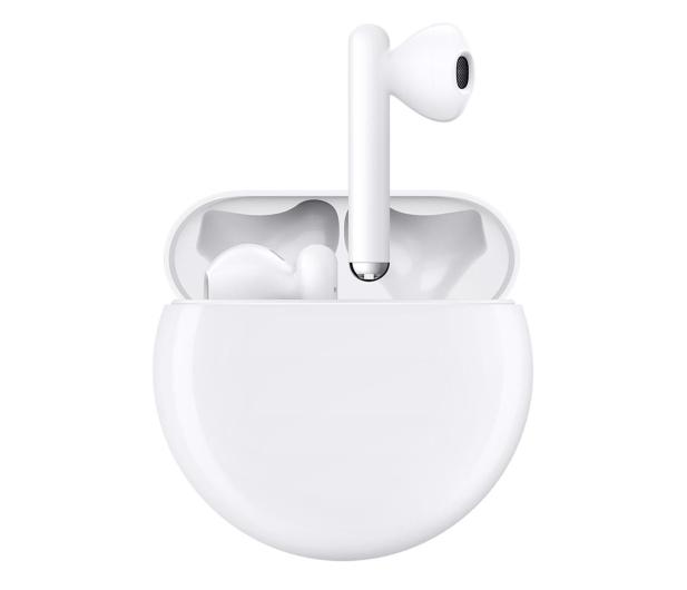 Huawei FreeBuds 3 biały - 527056 - zdjęcie