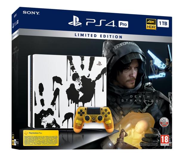 Sony PlayStation 4 PRO 1TB + Death Stranding - 527018 - zdjęcie