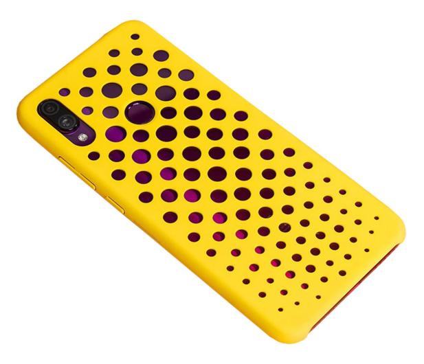 Xiaomi Art Hard Case do Xiaomi Redmi Note 7 żółty - 527081 - zdjęcie 2