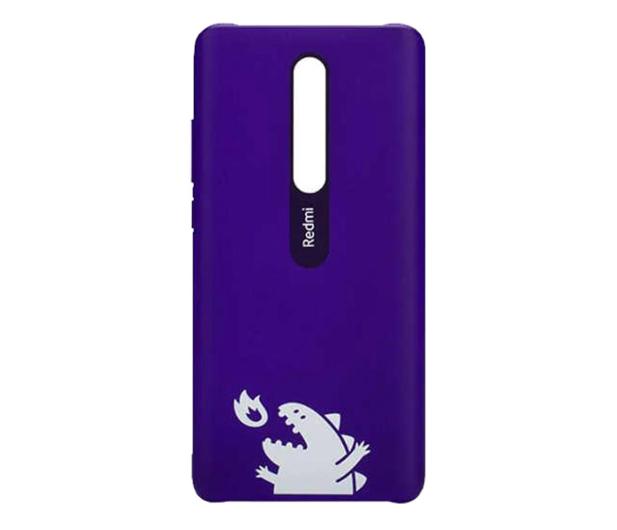 Xiaomi Monster Hard Case Xiaomi Mi 9T/Mi 9T Pro fiolet - 527091 - zdjęcie