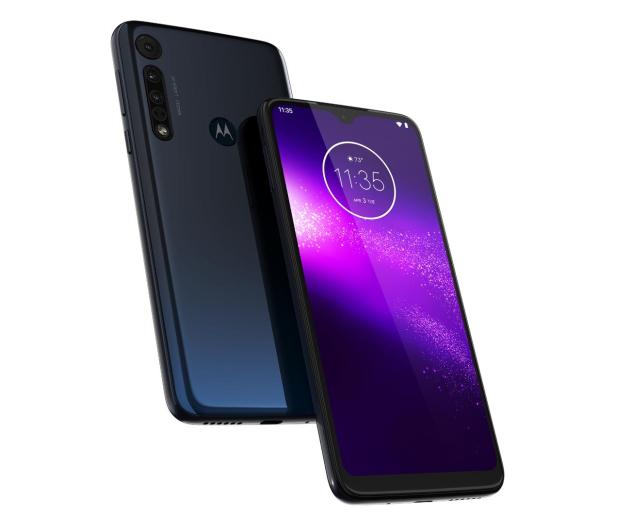 Motorola One Macro 4/64GB Dual SIM IPX2 Space Blue + etui - 527985 - zdjęcie 10