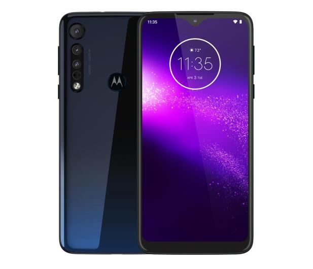 Motorola One Macro 4/64GB Dual SIM IPX2 Space Blue + etui - 527985 - zdjęcie