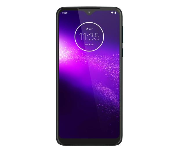 Motorola One Macro 4/64GB Dual SIM IPX2 Space Blue + etui - 527985 - zdjęcie 3