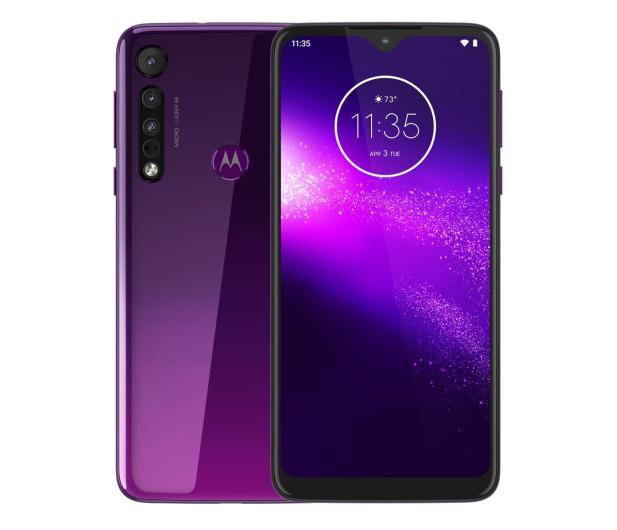 Motorola One Macro 4/64GB Dual SIM IPX2 Ultra Violet + etui - 527986 - zdjęcie