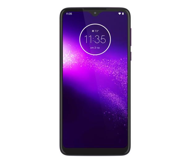 Motorola One Macro 4/64GB Dual SIM IPX2 Ultra Violet + etui - 527986 - zdjęcie 3