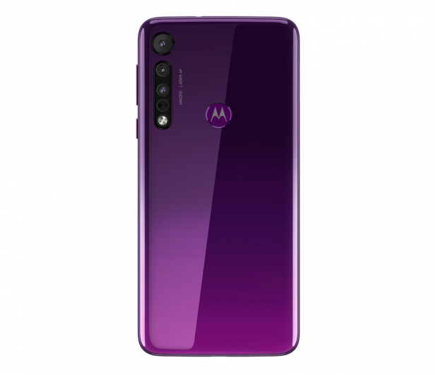 Motorola One Macro 4/64GB Dual SIM IPX2 Ultra Violet + etui - 527986 - zdjęcie 6