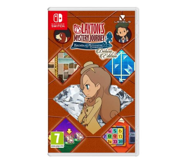 Switch Layton's Mystery Journey: K&M Con. Del. Ed. - 526475 - zdjęcie