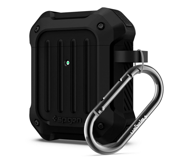 Spigen Tough Armor do Apple AirPods czarne   - 527222 - zdjęcie 5