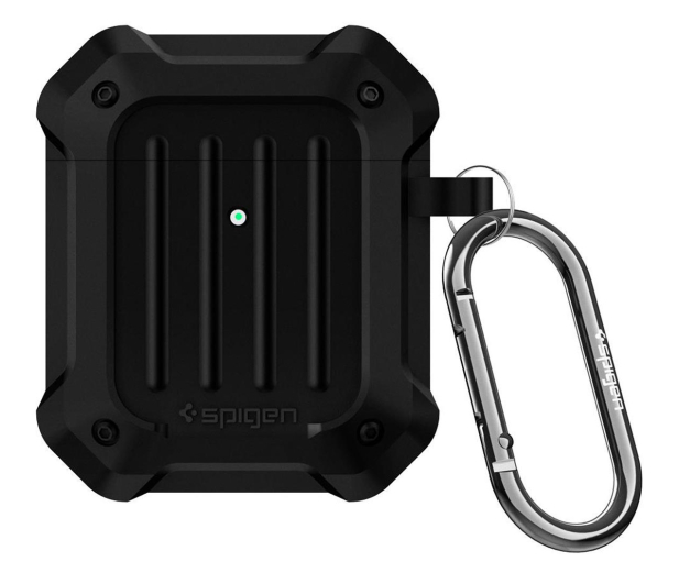 Spigen Tough Armor do Apple AirPods czarne   - 527222 - zdjęcie 4